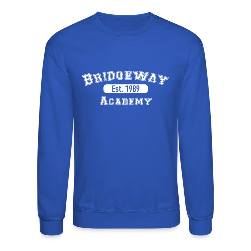 Bridgeway Academy Established 1989 - Unisex Crewneck Sweatshirt