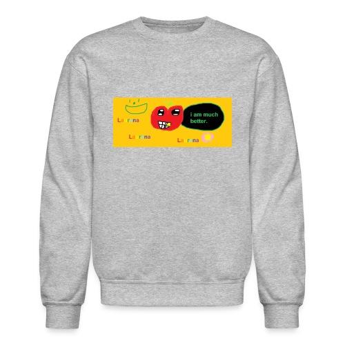 pechy vs apple - Crewneck Sweatshirt