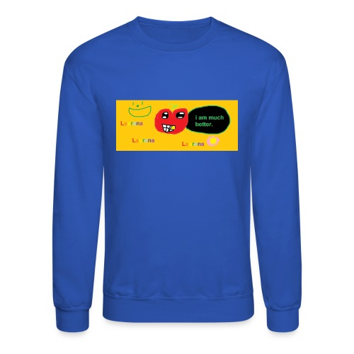 pechy vs apple - Crewneck Sweatshirt