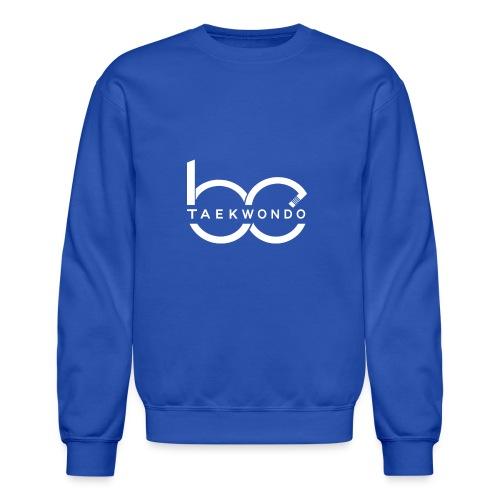 Logo emblem WHITE no bg - Crewneck Sweatshirt