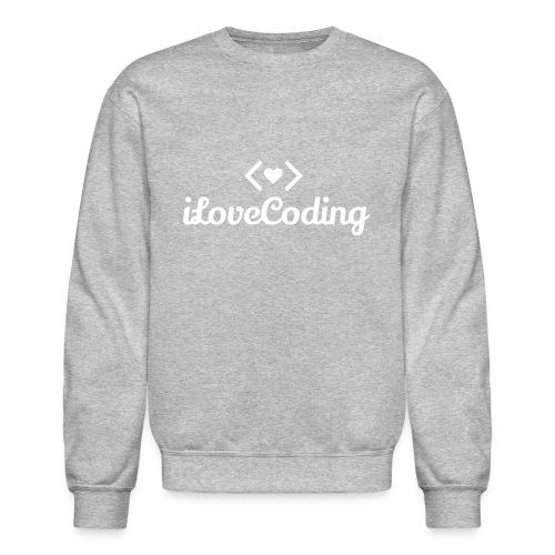 I Love Coding - Crewneck Sweatshirt