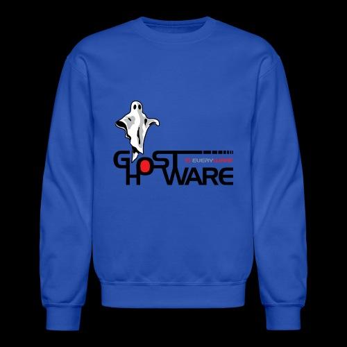 Ghostware Wide Logo - Unisex Crewneck Sweatshirt