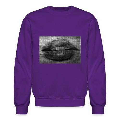 Blurry Lips - Crewneck Sweatshirt