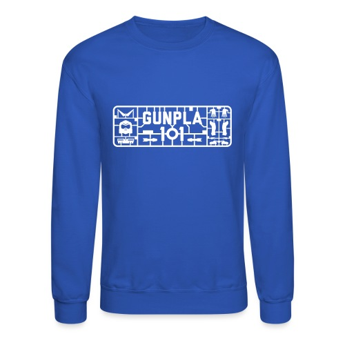 Gunpla 101 Men's T-shirt — Zeta Blue - Unisex Crewneck Sweatshirt