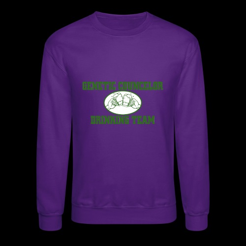 genetic counselor drinking team - Crewneck Sweatshirt