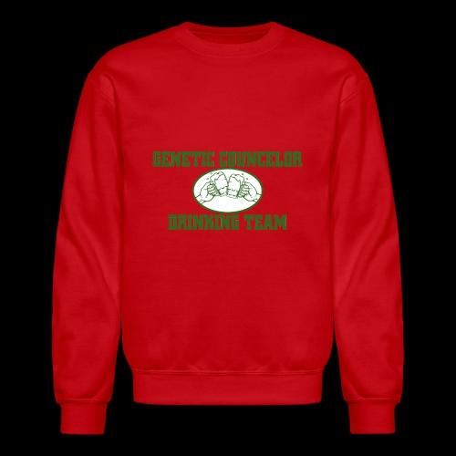 genetic counselor drinking team - Crewneck Sweatshirt