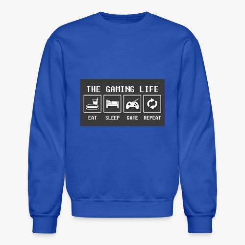 Gaming is life - Unisex Crewneck Sweatshirt