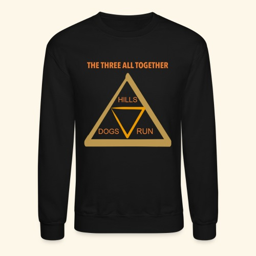 Run4Dogs Triangle - Crewneck Sweatshirt