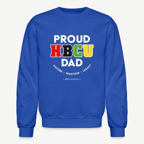 Proud HBCU Dad RGB - Crewneck Sweatshirt