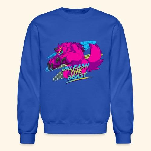 - Unleash the Beast - - Crewneck Sweatshirt