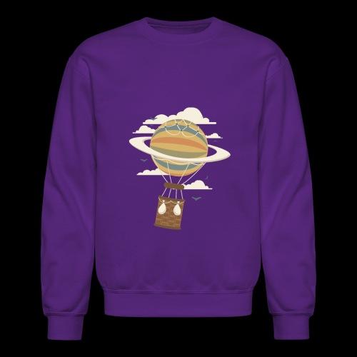 Air Baloon Saturn - Crewneck Sweatshirt