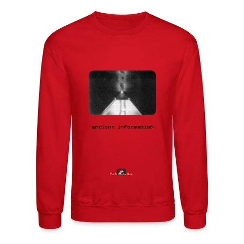 'Ancient Information' - Crewneck Sweatshirt