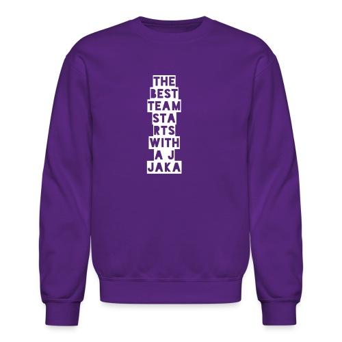 The Best Team Jaka - Crewneck Sweatshirt