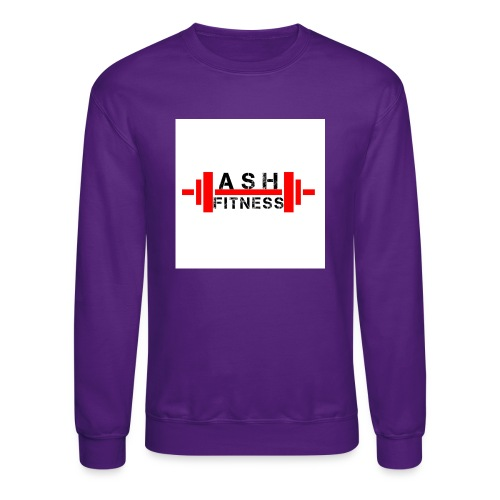 ASH FITNESS MUSCLE ACCESSORIES - Crewneck Sweatshirt