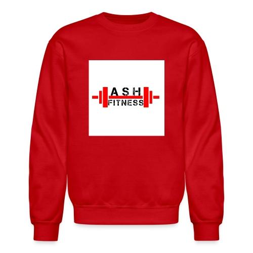 ASH FITNESS MUSCLE ACCESSORIES - Crewneck Sweatshirt