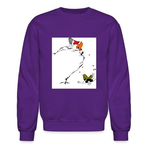 Lady Climber - Unisex Crewneck Sweatshirt