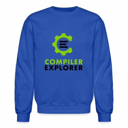 Logo and text - Unisex Crewneck Sweatshirt