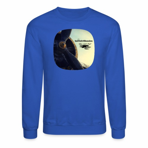 "InovativObsesion ""PROP TURNER"" apparel - Crewneck Sweatshirt"