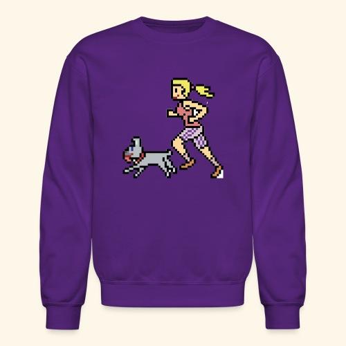 RunWithPixel - Crewneck Sweatshirt