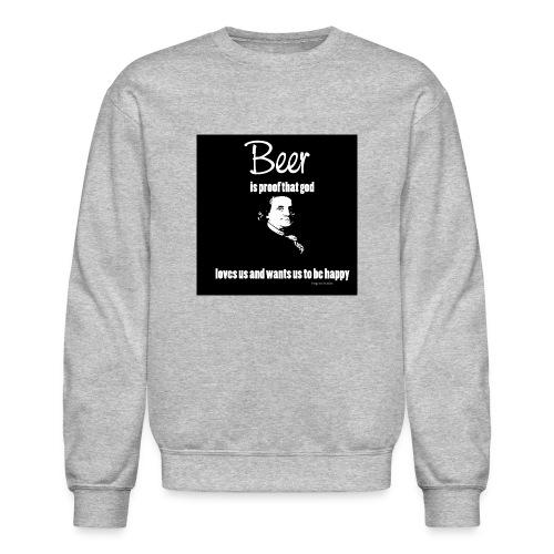 Beer T-shirt - Crewneck Sweatshirt