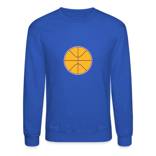 Basketball purple and gold - Crewneck Sweatshirt