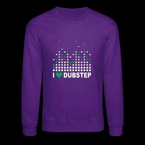 I heart dubstep - Crewneck Sweatshirt
