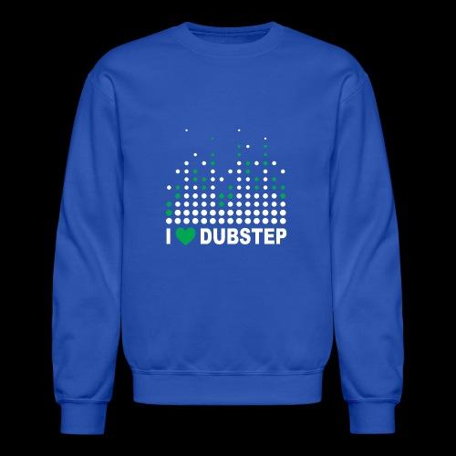 I heart dubstep - Crewneck Sweatshirt