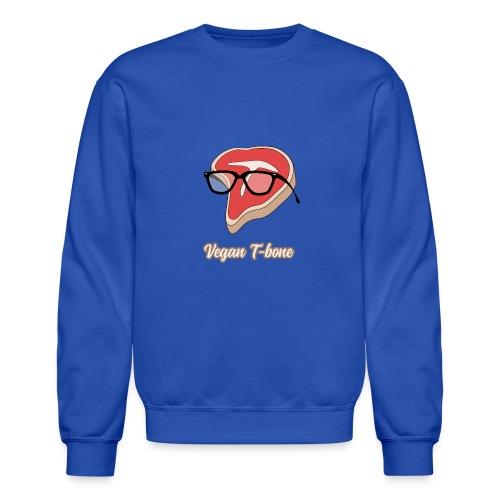 Vegan T bone - Unisex Crewneck Sweatshirt