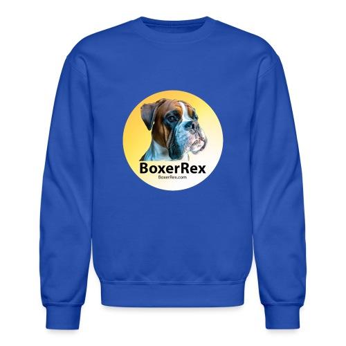 Boxer Rex logo - Crewneck Sweatshirt