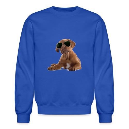 cool dog - Crewneck Sweatshirt