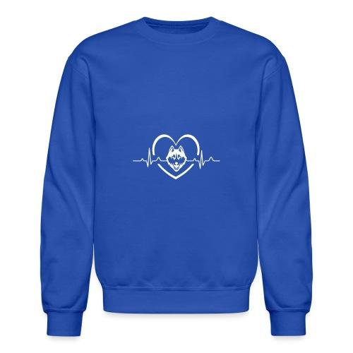 Love every beat for Husky T-Shirt - Unisex Crewneck Sweatshirt