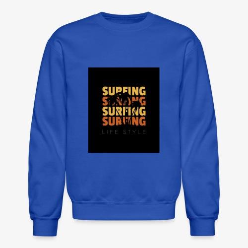 Surfing Life Style - Crewneck Sweatshirt
