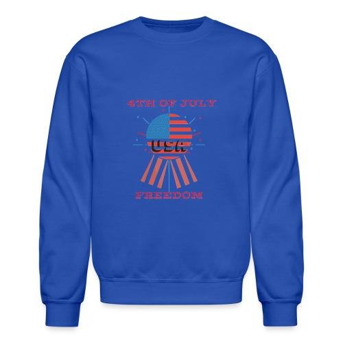 4th of July Freedom - Unisex Crewneck Sweatshirt