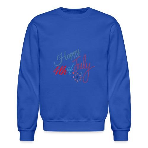 Happy 4th of July - Unisex Crewneck Sweatshirt