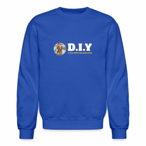 DIY For Knuckleheads Logo. - Crewneck Sweatshirt