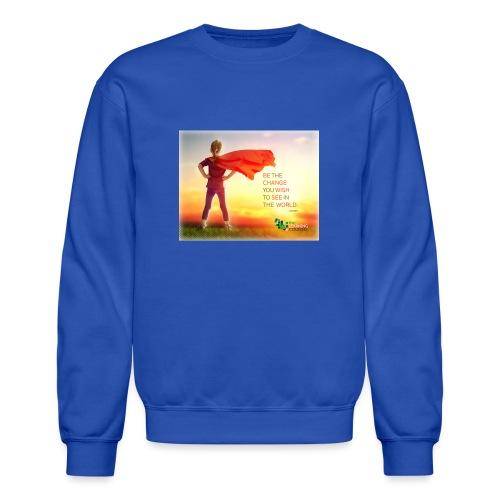 Education Superhero - Unisex Crewneck Sweatshirt