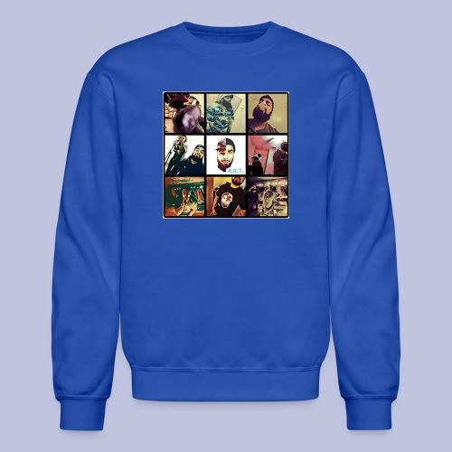 Throwback ART Mixtape Cover - Crewneck Sweatshirt