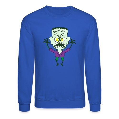 Scary Halloween Frankenstein - Crewneck Sweatshirt