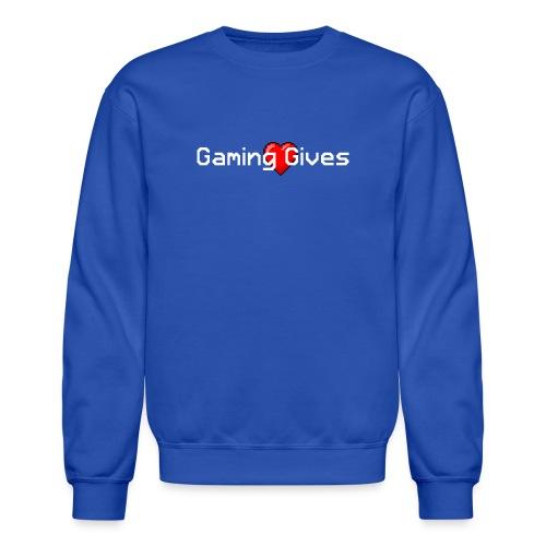 Gaming Gives - Unisex Crewneck Sweatshirt