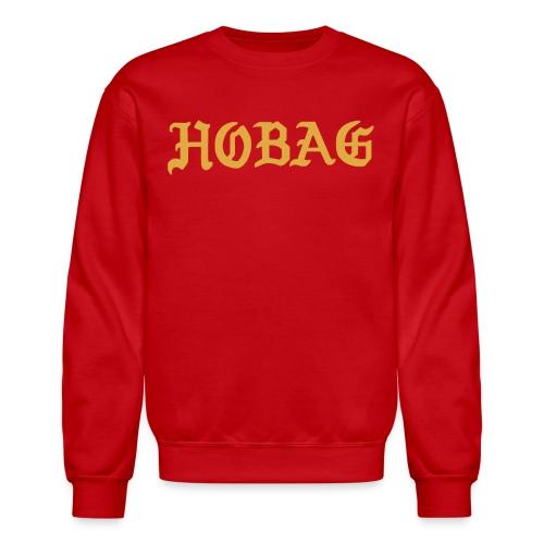 BLUE - HOBAG LETTERING - Crewneck Sweatshirt