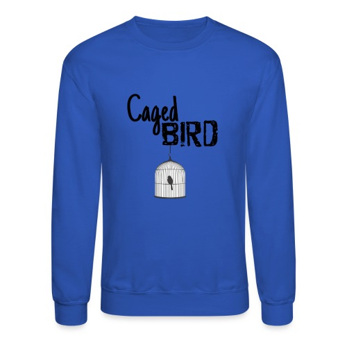 Caged Bird Abstract Design - Crewneck Sweatshirt