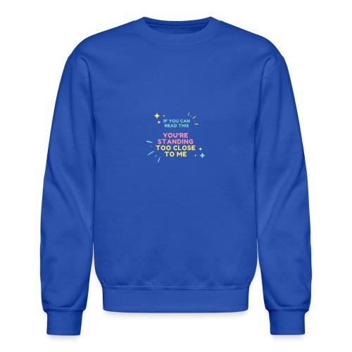 Fight Corona - Unisex Crewneck Sweatshirt