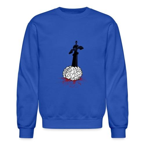 Sword in Brain - Unisex Crewneck Sweatshirt