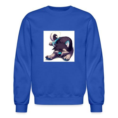 cute wolf - Unisex Crewneck Sweatshirt