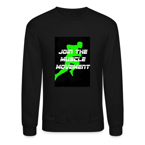 muscle movement - Crewneck Sweatshirt