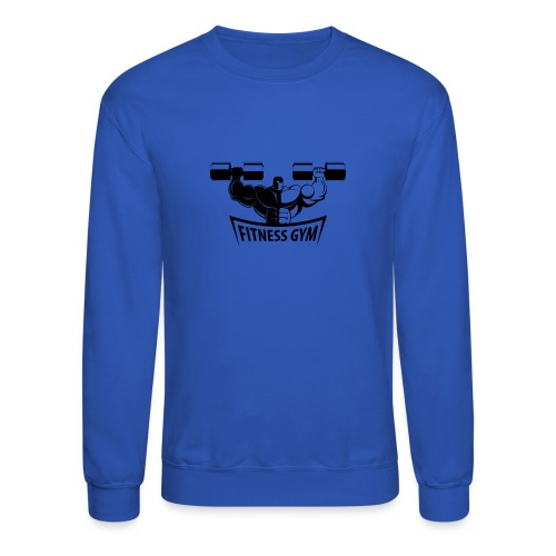 Fitness Gym Muscled Bodybuilding Dumbbells - Crewneck Sweatshirt