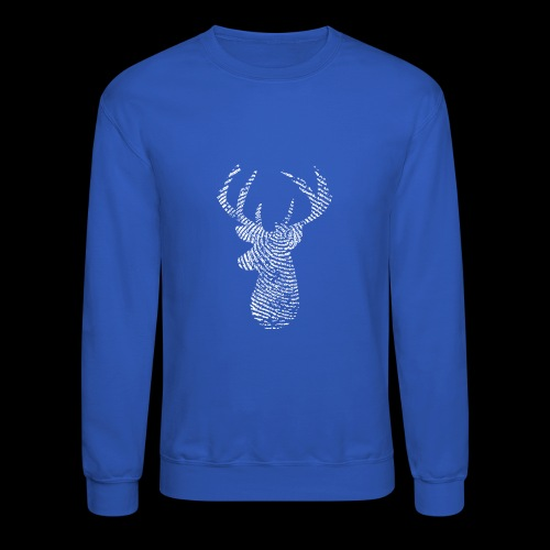Deer Tracker Fingerprint - Crewneck Sweatshirt