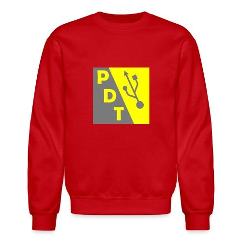 PDT Logo - Crewneck Sweatshirt