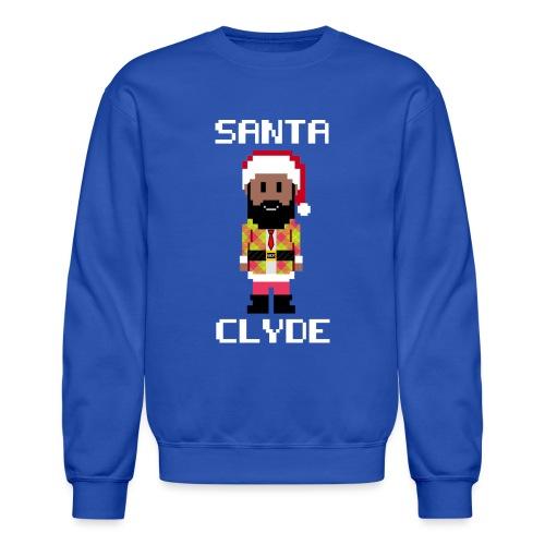 Santa Clyde So Fly (8-Bit) - Unisex Crewneck Sweatshirt