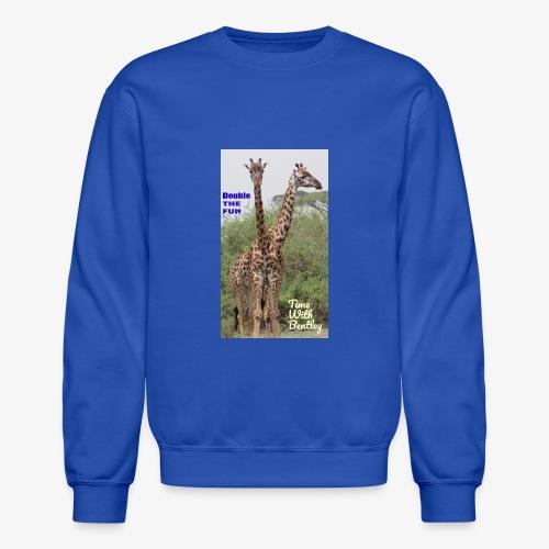 Two Headed Giraffe - Crewneck Sweatshirt
